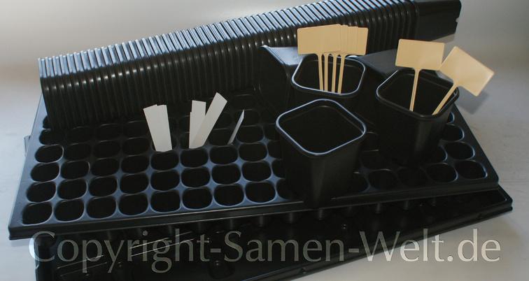 Set Anzuchtplatte Quick Pot 150er Mehrweg 150 Topfe Samen Welt
